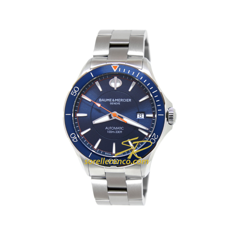 Clifton Club Blu Automatico Acciaio 42mm