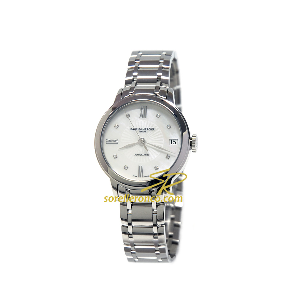 Classima Lady Automatico Madreperla e Diamanti 31mm