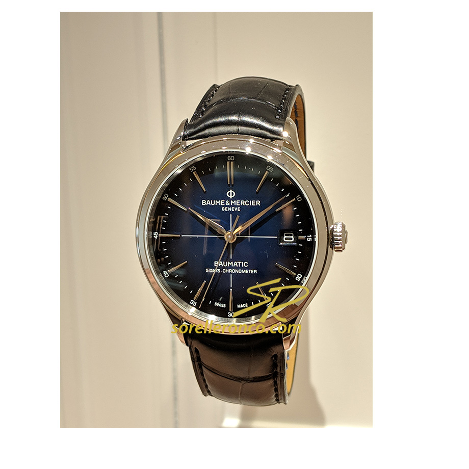 Clifton Baumatic Blu 40mm