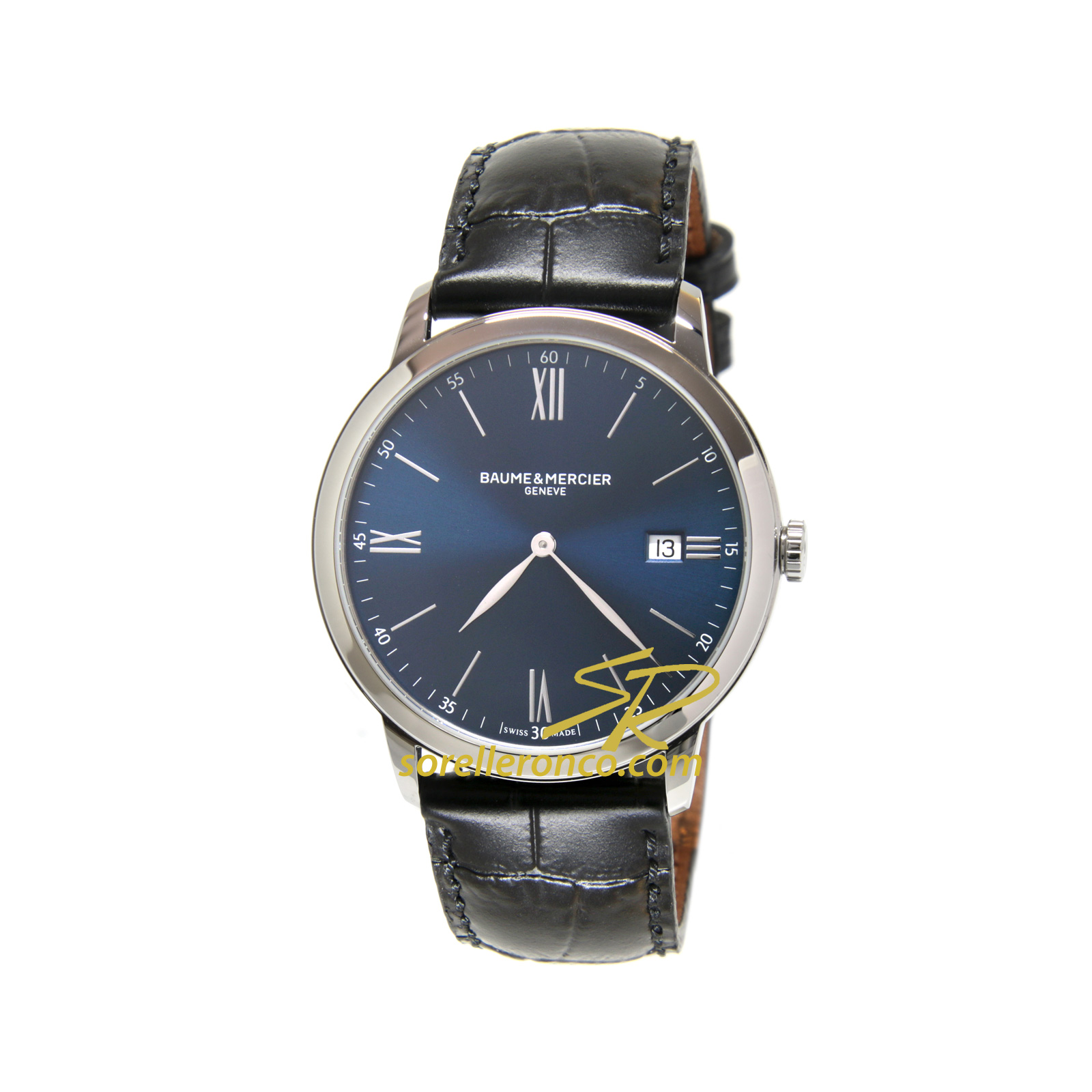 Classima Quarzo Quadrante Blu 40mm