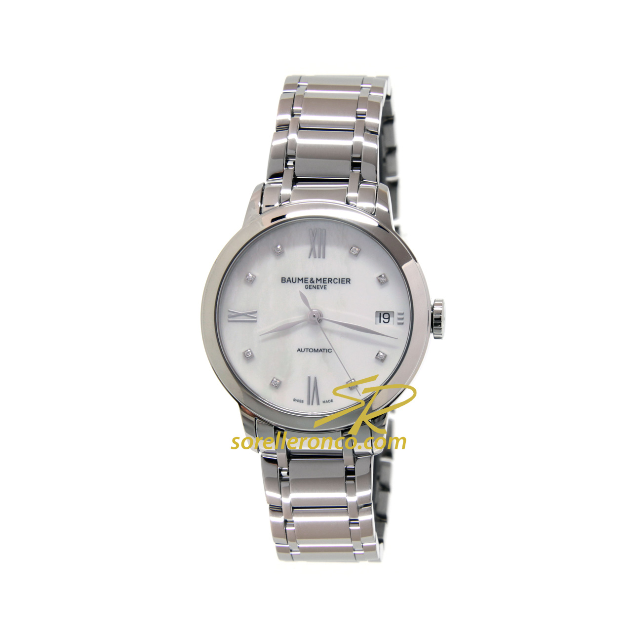 Classima Lady Madreperla Diamanti 34mm