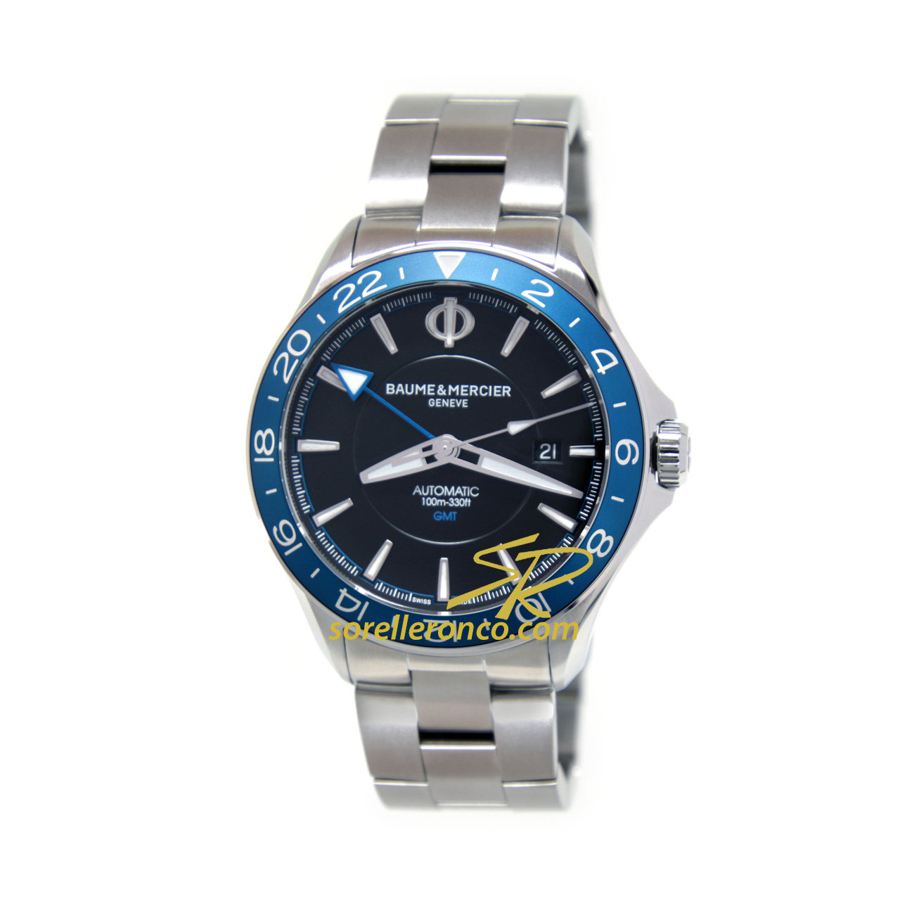 Clifton GMT Ghiera Blu