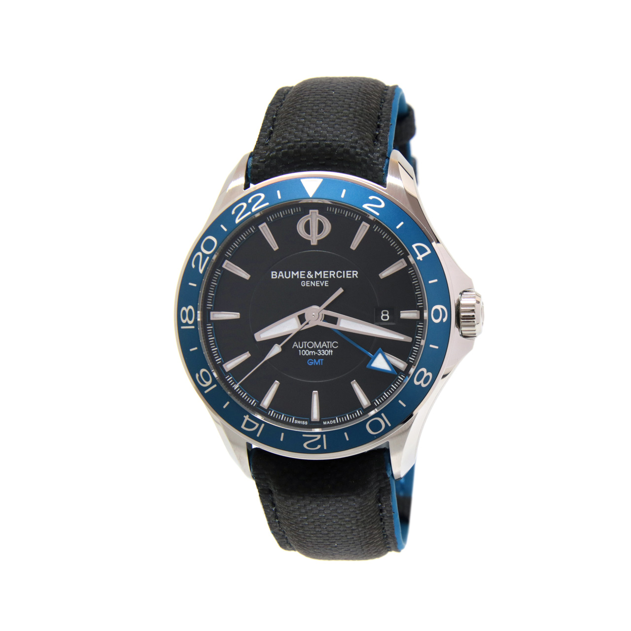 Clifton Club GMT Nero Automatico 42mm