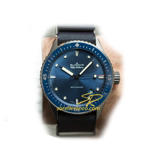 Fifty Fathom Bathyscaphe Blu 43mm