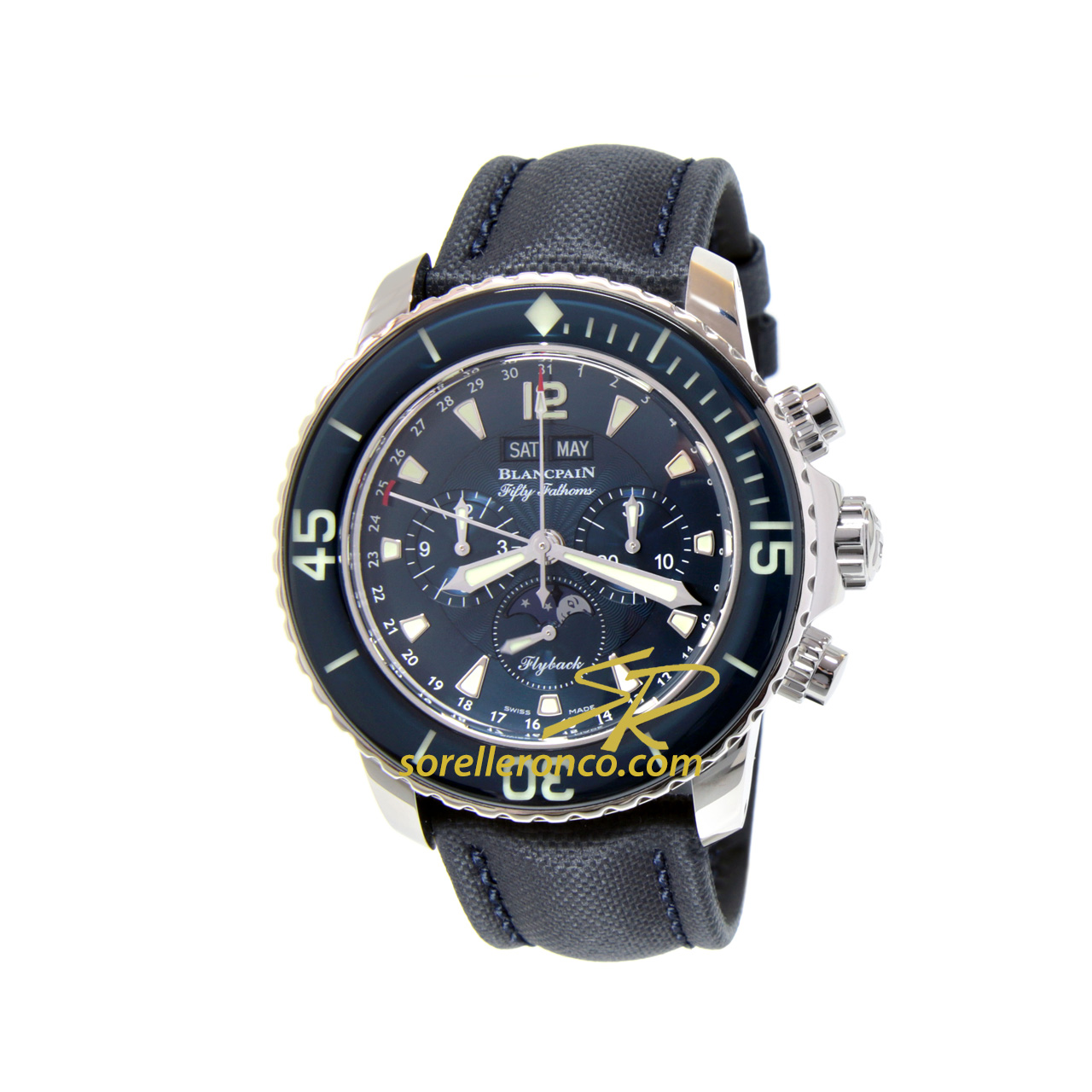 Fifty Fathoms Cronografo flyback
