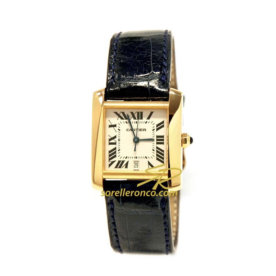 Orologio Cartier Tank Francaise Grande Misura Oro giallo