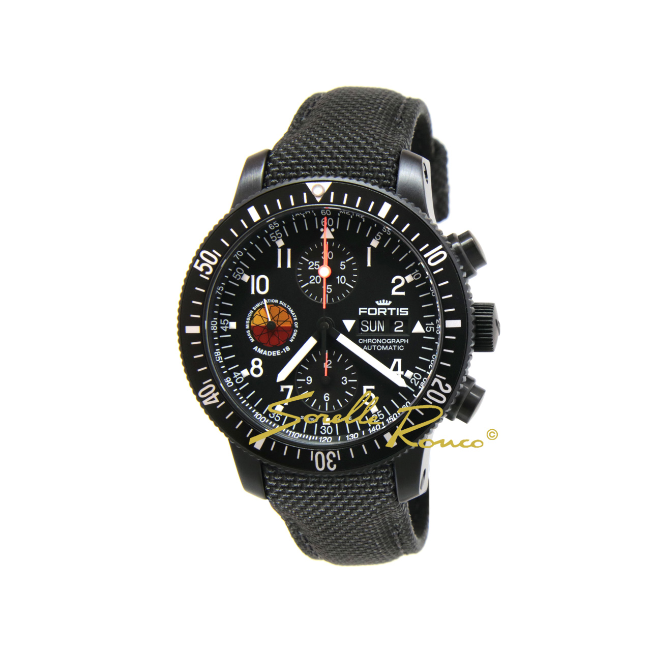 Official Cosmonauts Amadee-18 42mm