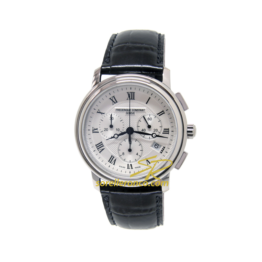 Classics Chrono Quadrante Silver 40mm
