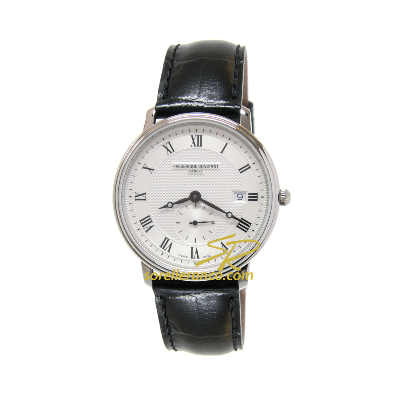 Slimline Small Seconds Silver