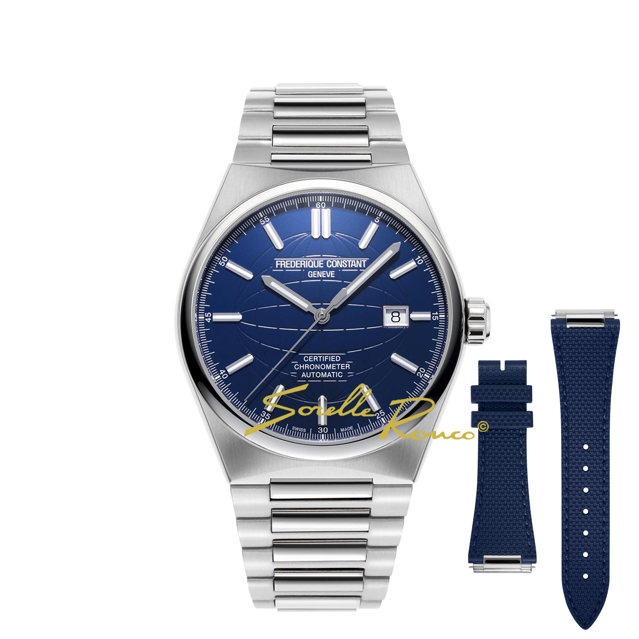 Highlife 41mm COSC Automatico Blu