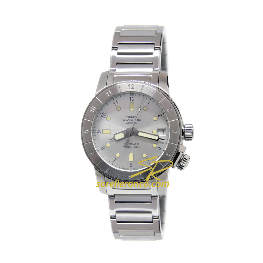 Airwoman Double Twelve 36mm Silver