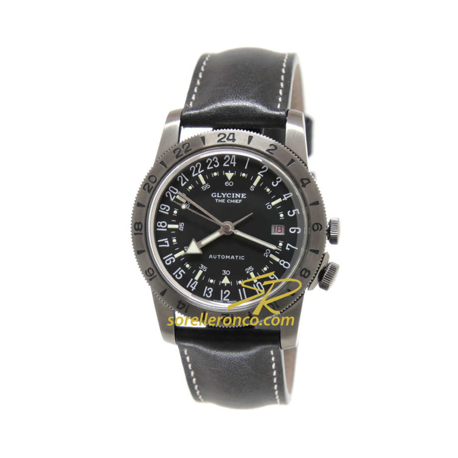 Airman The Chief Acciaio Brunito 40mm