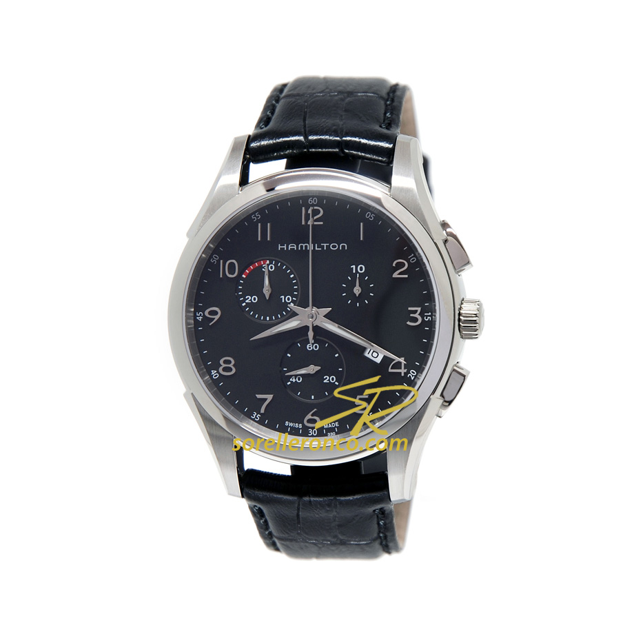 Jazzmaster Thinline Chrono Quadrante Nero 43mm