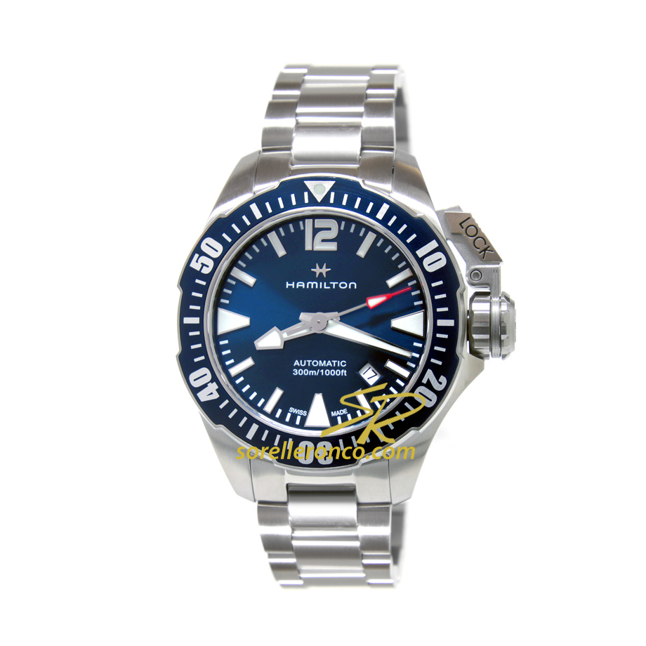 Khaki Navy Frogman Blu 42mm