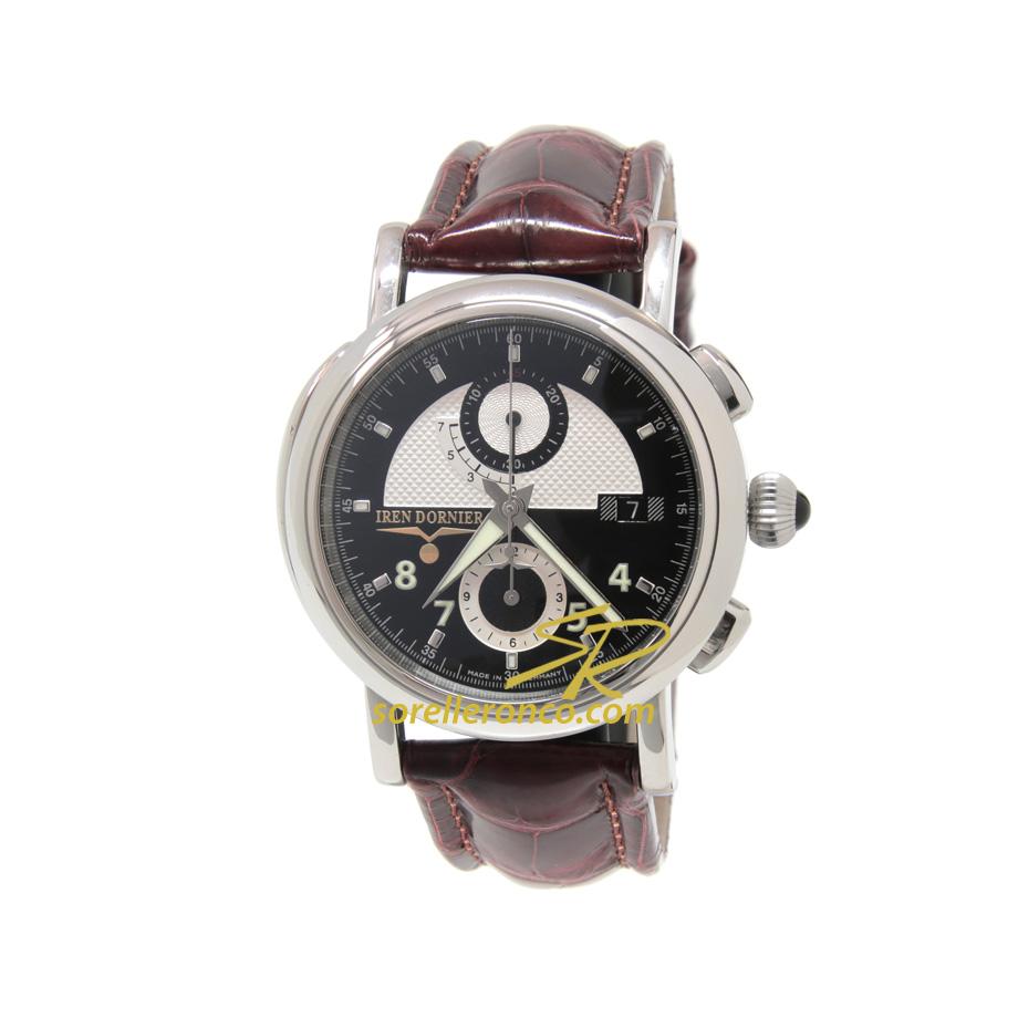 Cronografo Automatico da volo Dornier Nero 42mm