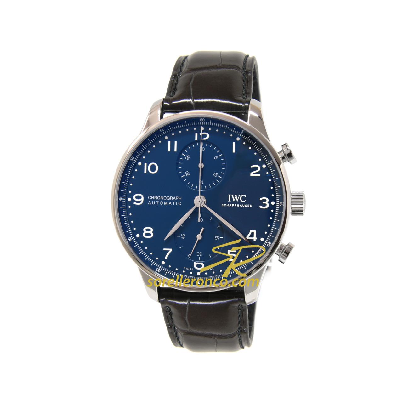 Cronografo Portoghese Blu Automatico 150th Anniversario IWC