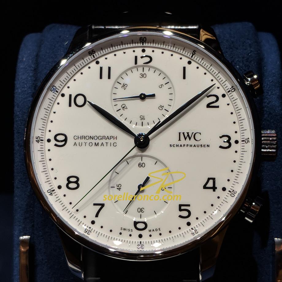 150 Anniversario Portoghese Cronografo Edizione Limitata Bianco
