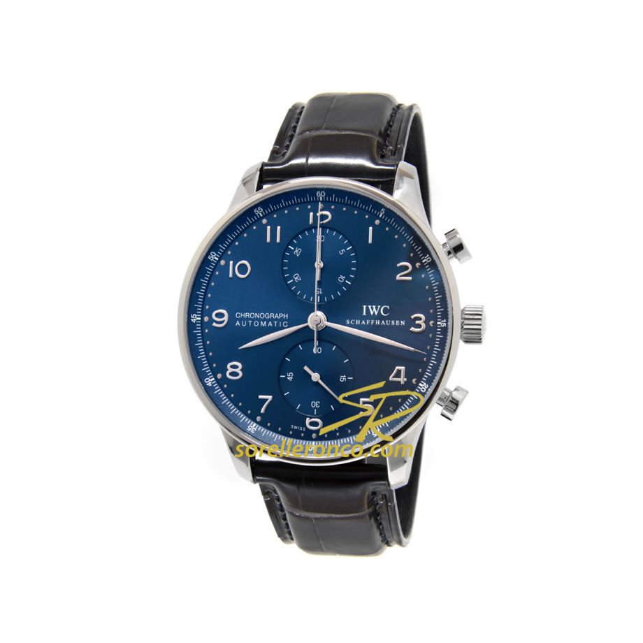 Chrono Portoghese 41mm - NUOVO QUADRANTE Blu
