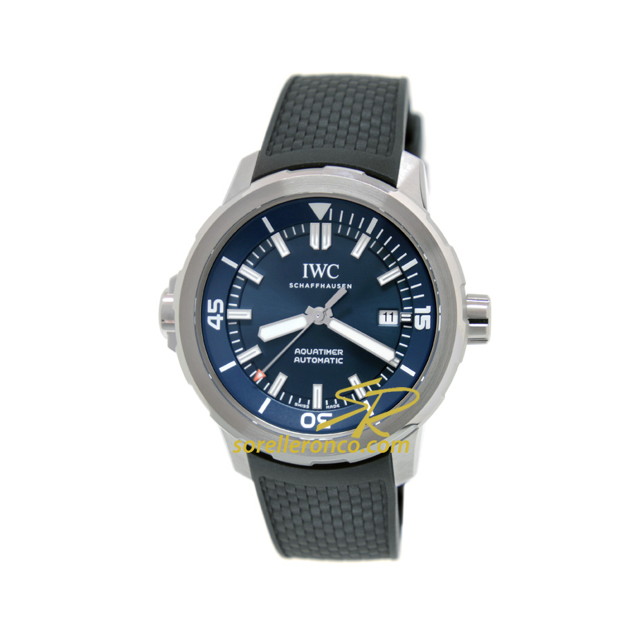 Aquatimer 42mm Special Edition Expedition Jacques-Yves Cousteau Blu