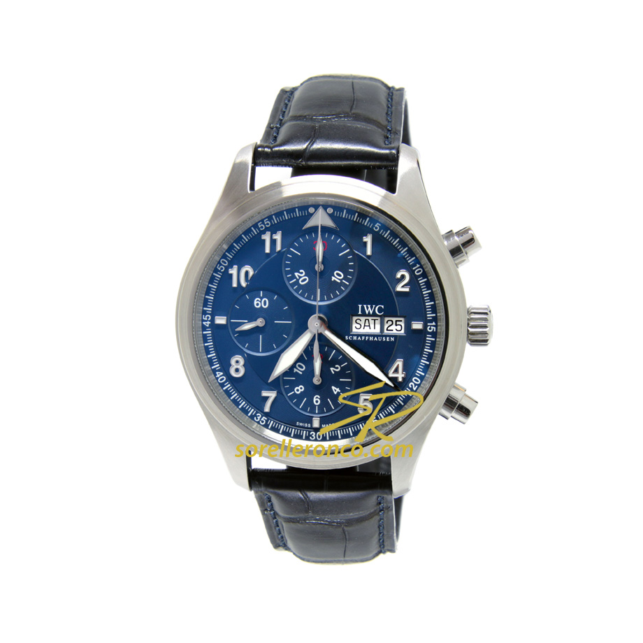 Spitfire Chrono Pilot Laureus Edition Blu 42mm