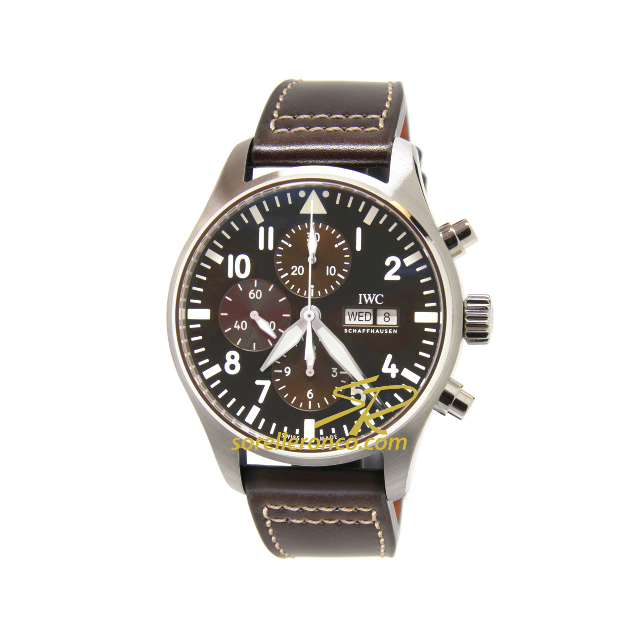 Aviatore Saint Exupery Chrono BROWN 43mm Bufalo