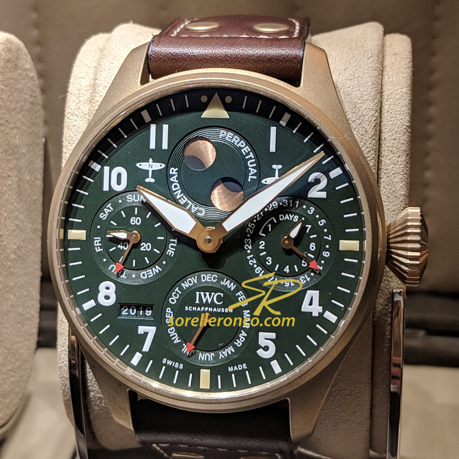 Big Pilot Calendario Perpetuo Spitfire 46mm