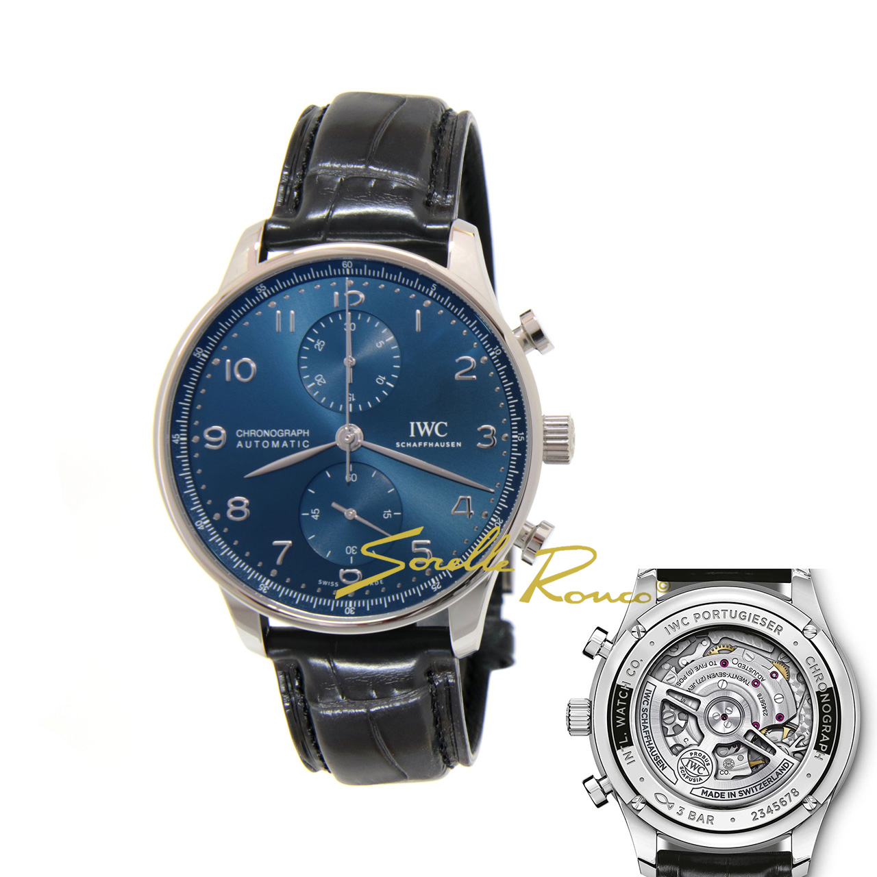 Portoghese Chrono Blu 41mm