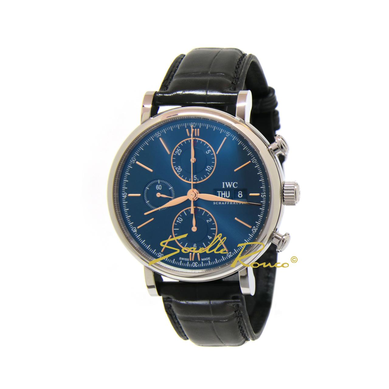 Portofino Chronografo Automatico Blu 42mm