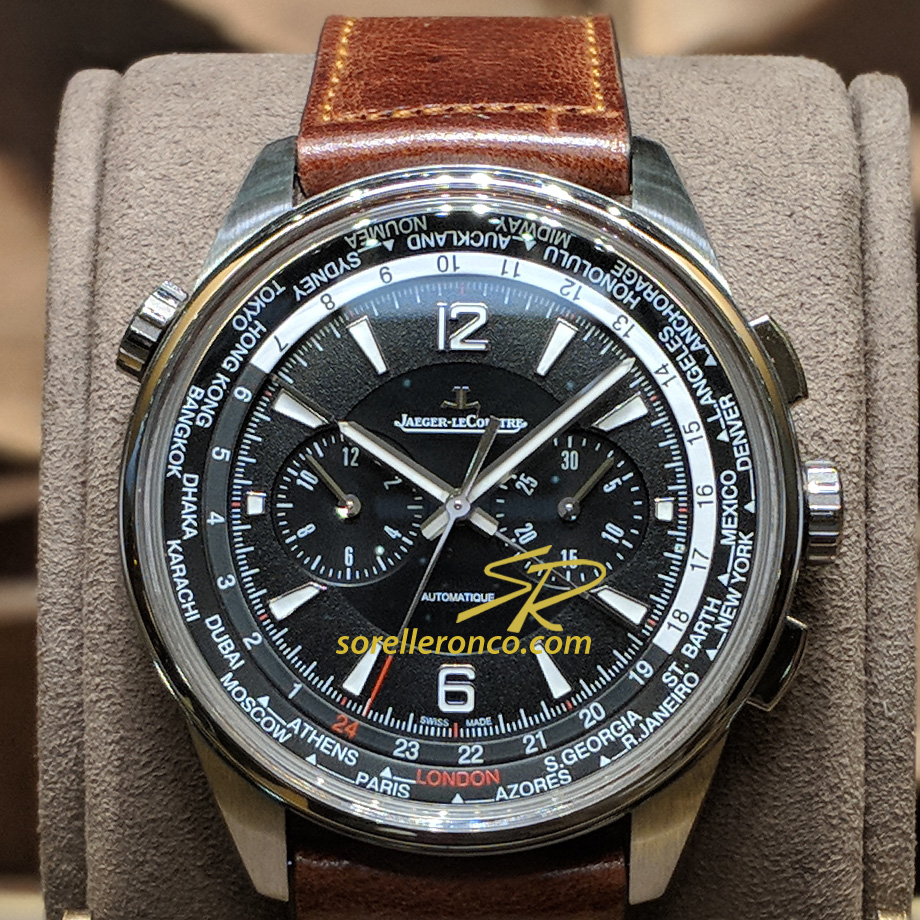 Jaeger LeCoultre Polaris Chronograph World Time 44mm ...