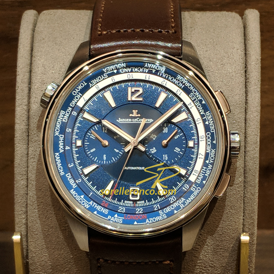 Polaris Chronograph Automatico 42mm Blu