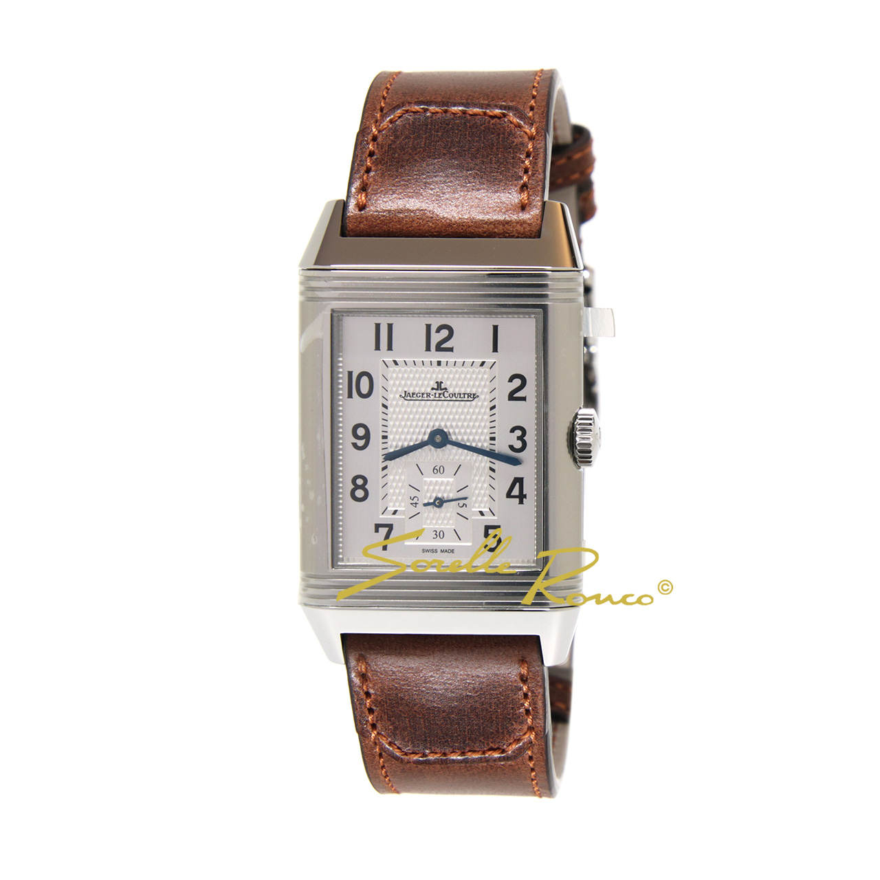 Reverso Classic Large Duoface Small Second Carica Manuale