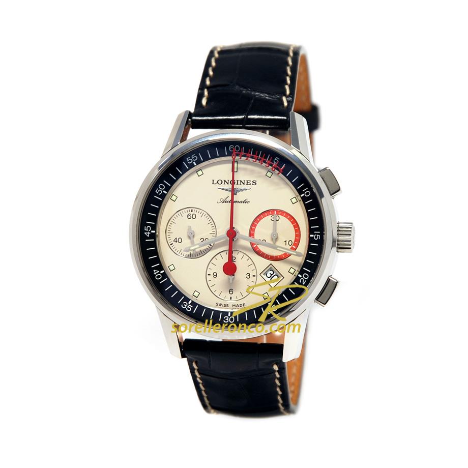 RECORD Cronografo Automatico con Ruota a Colonne