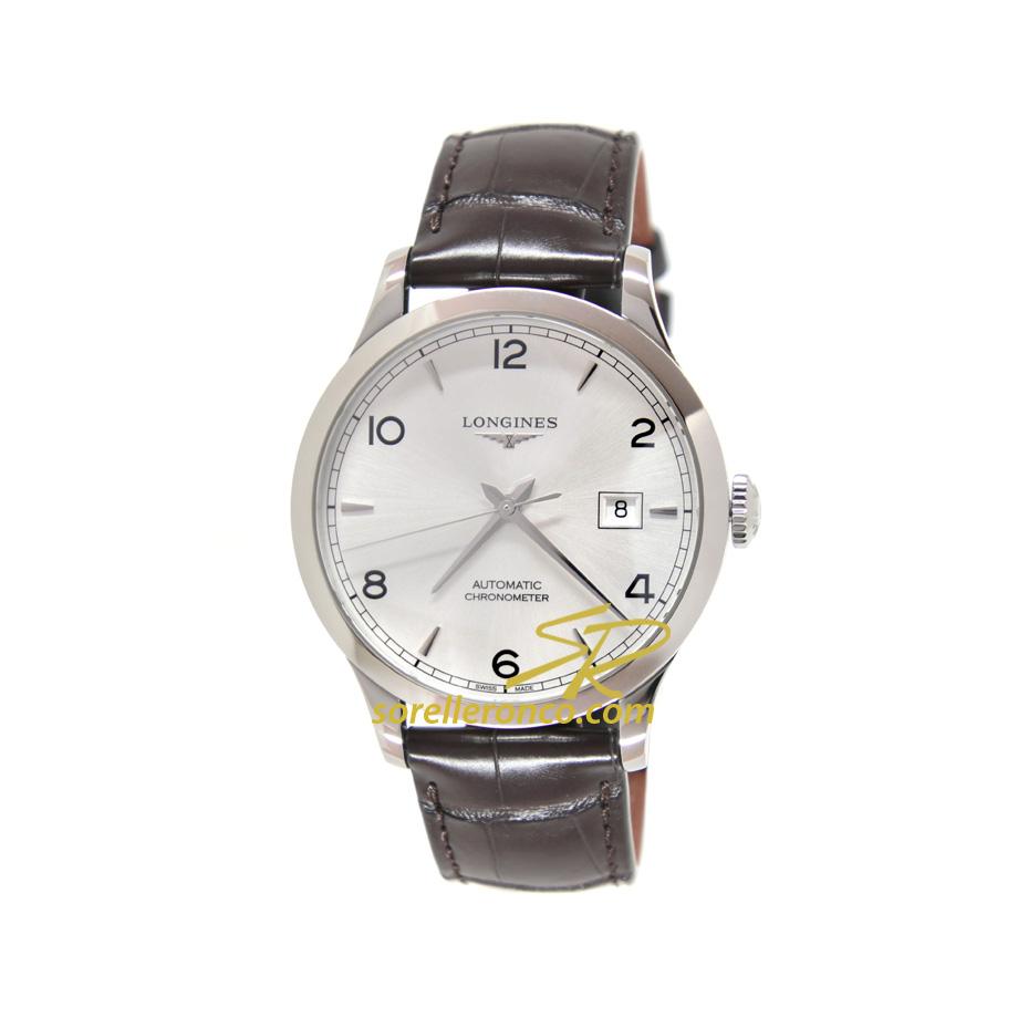 Record Automatico Chronometer 40mm Silver