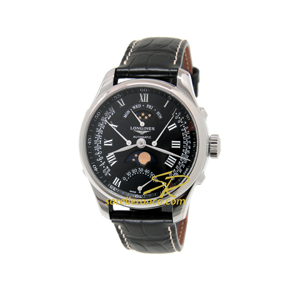The Longines Master Collection Fasi Lunari Nera 41mm