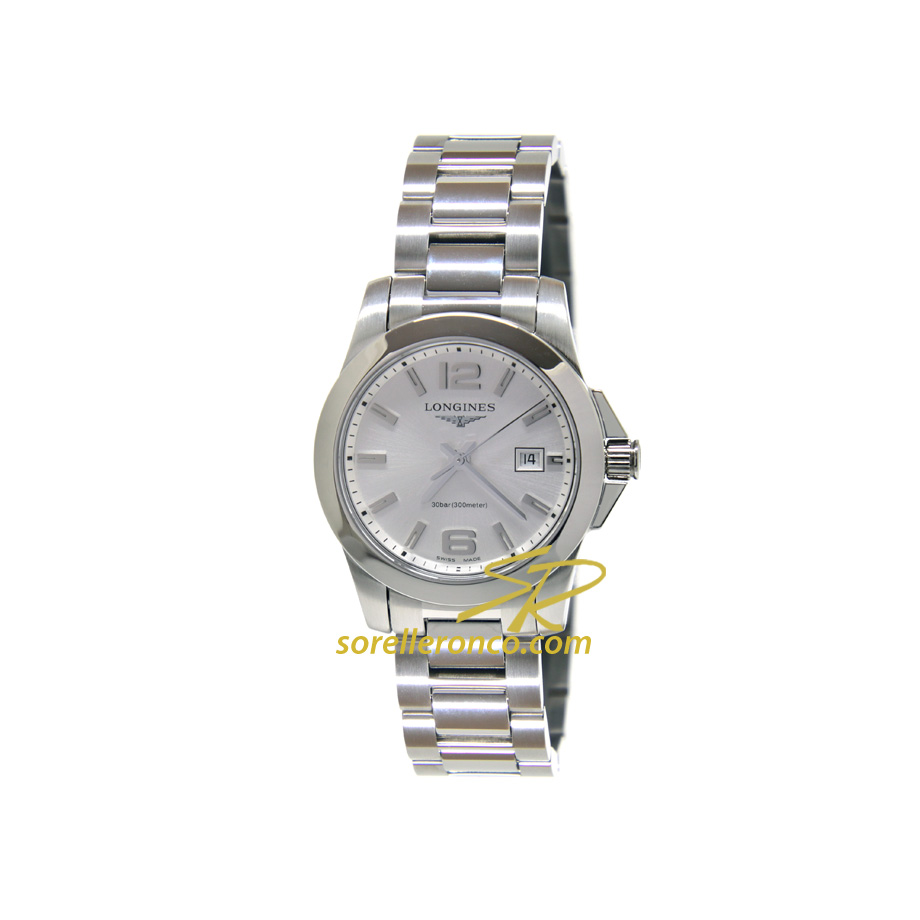 Conquest DONNA Silver Quarzo 29mm