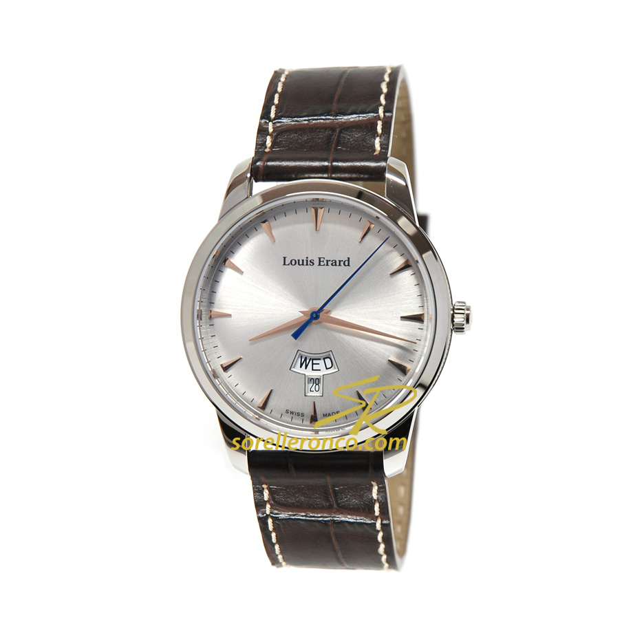 Heritage Day Date Quarzo Silver 40mm