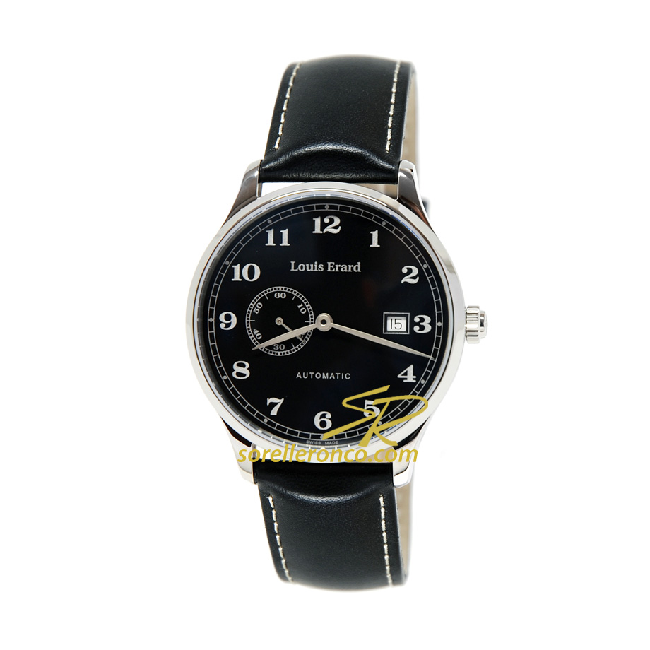 Orologio Louis Erard 1931 Collection Nero 40mm Limited Edition