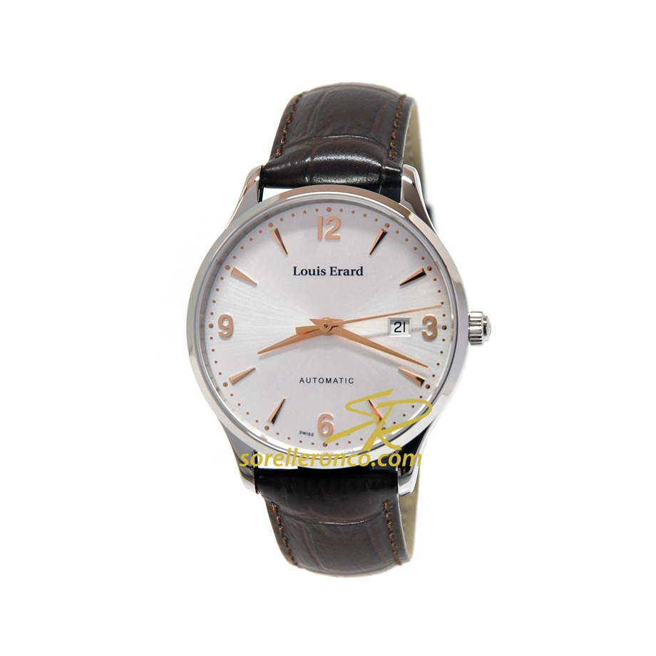Orologio Louis Erard 1931 Collection Silver Indici Ramati Offerta