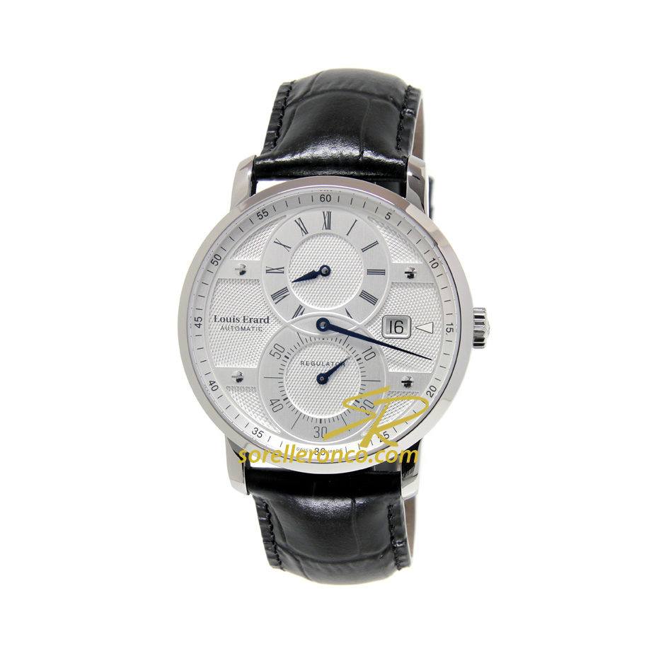 Orologio Louis Erard Excellence Regolatore Silver Date Automatico
