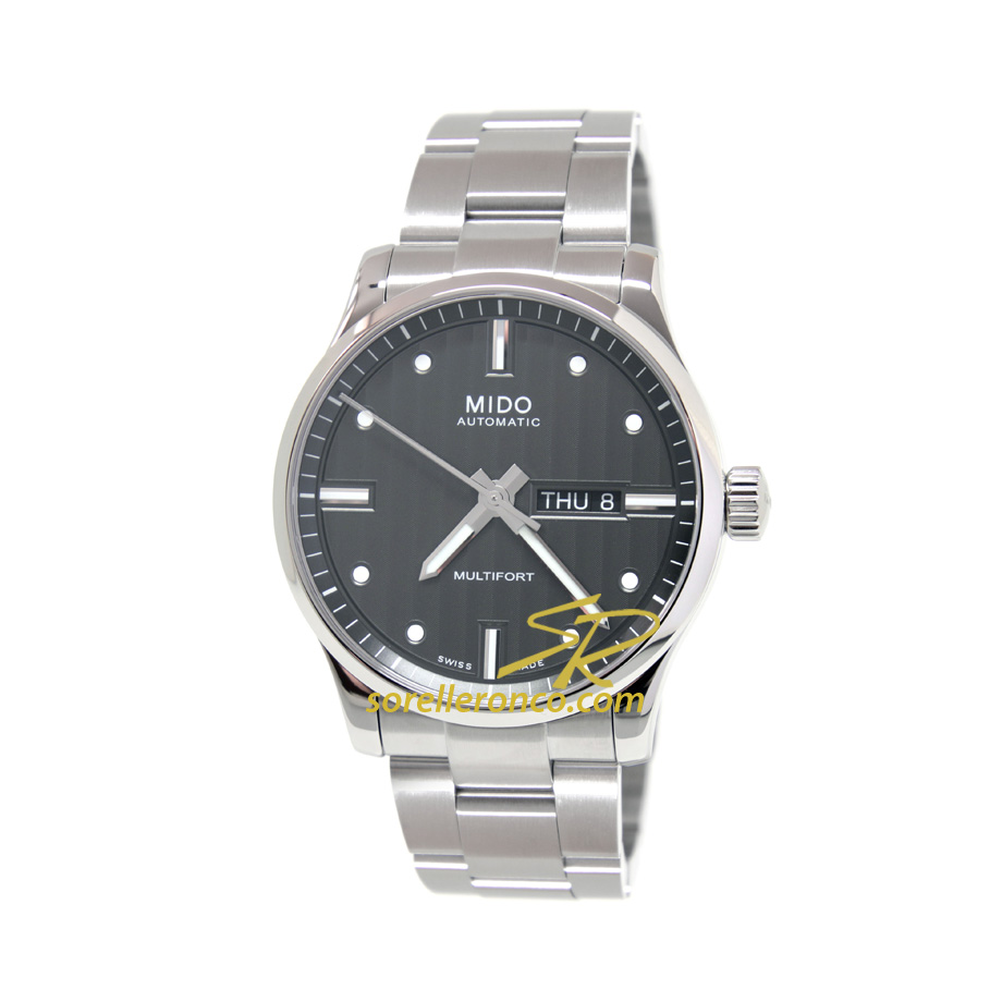 Multifort Day Date Grigio 42mm