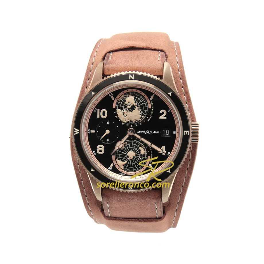 Geosphere Bronzo Limited Edition 1858 42mm