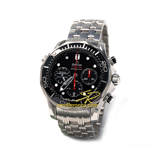 Seamaster Diver Chrono Co-Axial 300M Nero