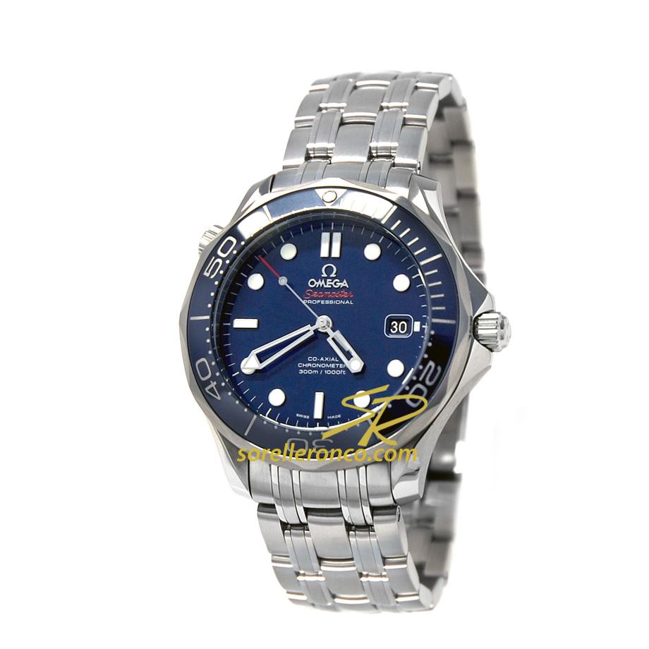 Seamaster 300 Co-Axial Automatico Blu
