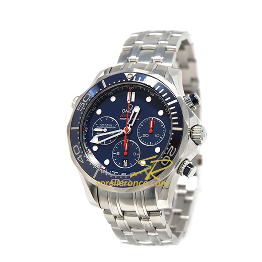 Seamaster SUB CHRONO 300M Co-Axial Blu 44mm