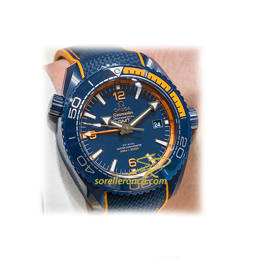 Planet Ocean 600M GMT Big Blue 45,5mm