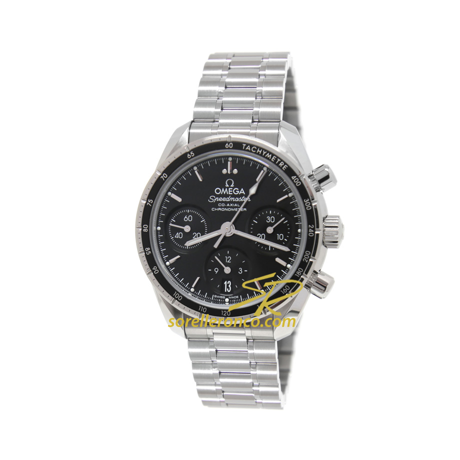Speedmaster Reduce Acciaio Co-Axial 38mm