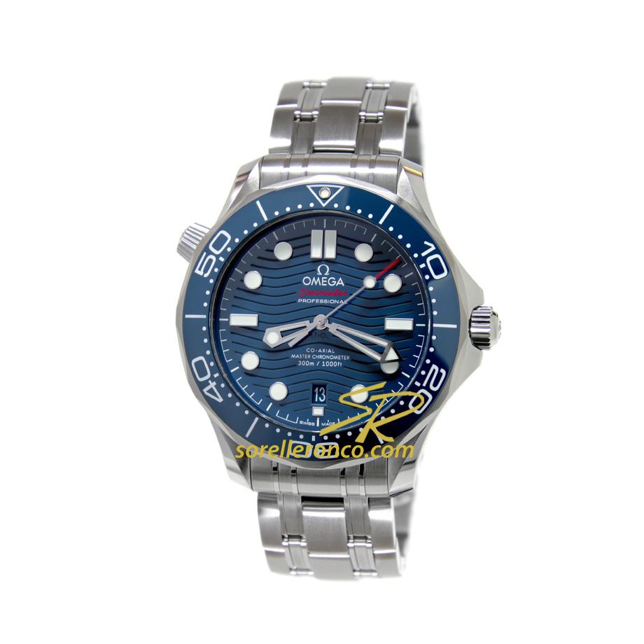 Seamaster Diver 300 Ghiera Ceramica Blu 42mm
