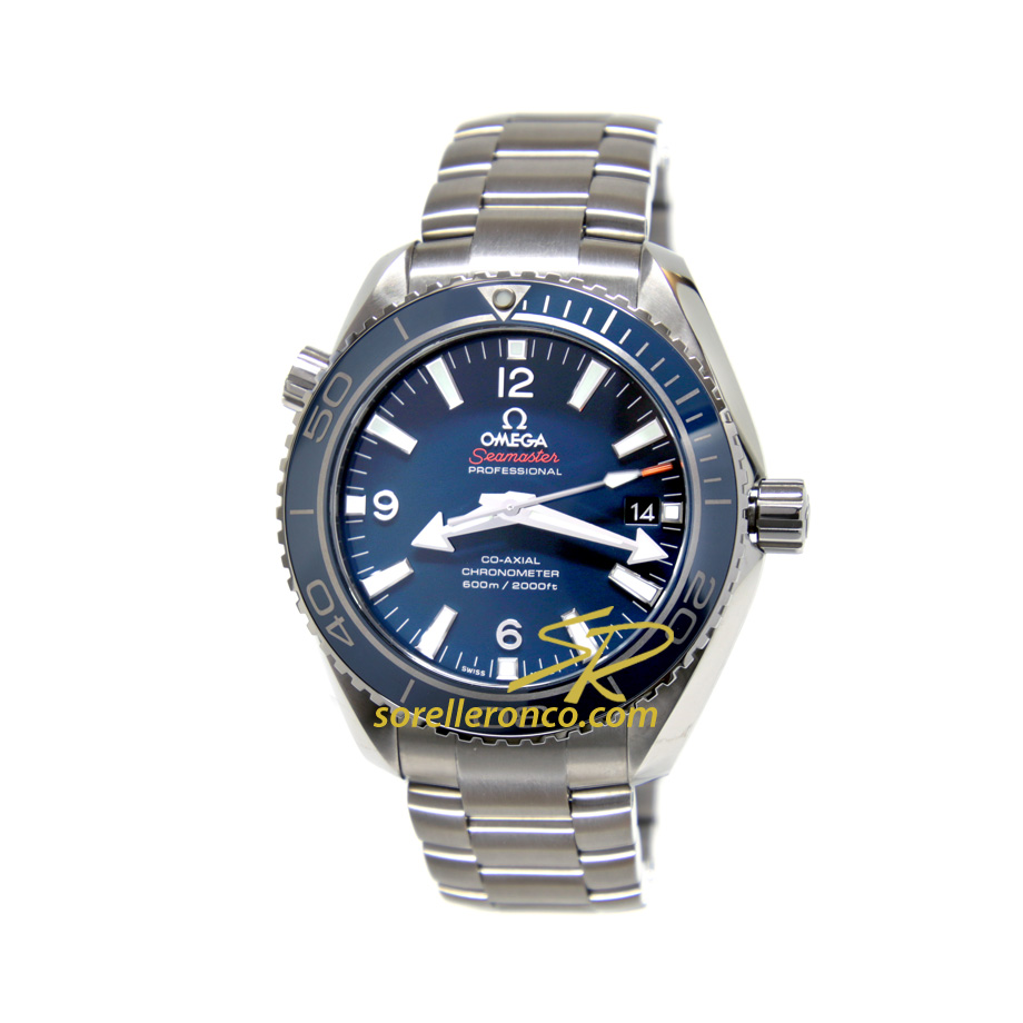 Seamaster Planet Ocean Blu Titanio 42mm