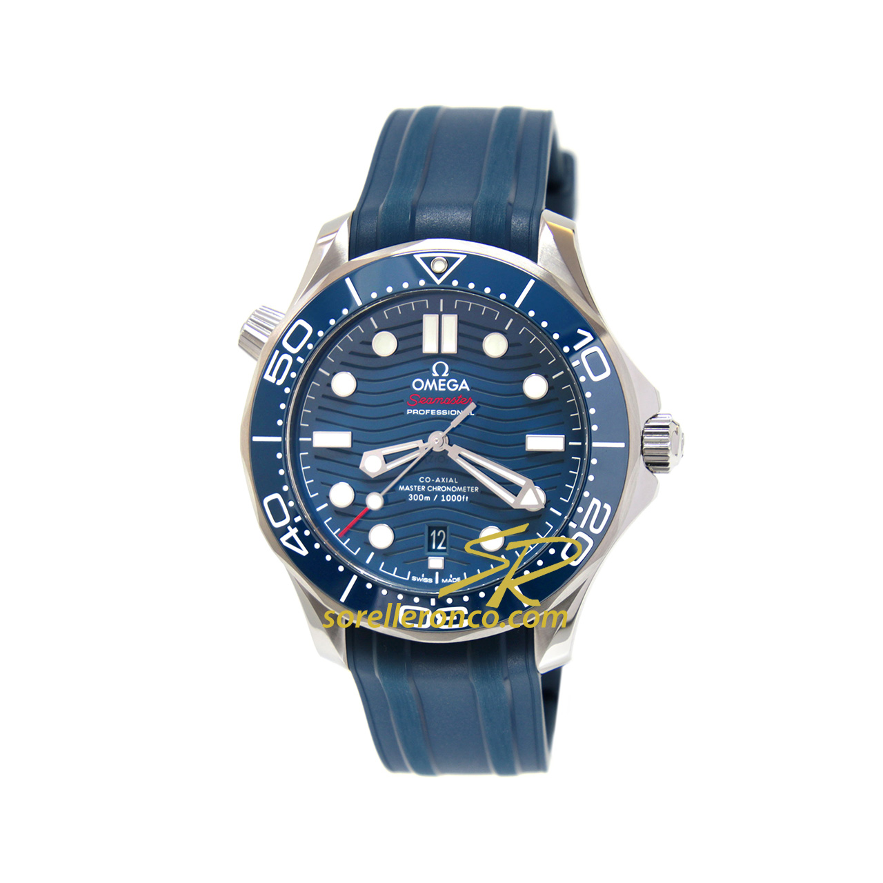 Seamaster Diver 300 Ceramica Blu 42mm