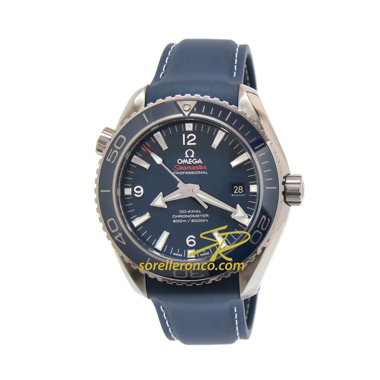Seamaster Planet Ocean 600m co-axial 45.5mm